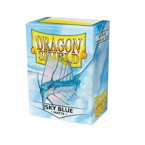 Dragon Shield Sleeves Matte Sky Blue 100