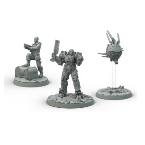 Fallout: Wasteland Warfare - Brotherhood of Steel Knight: Captain Cade, Paladin Danse