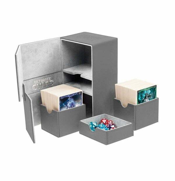 Ultimate Guard Twin Flip´n´Tray Deck Case 160+ Grey