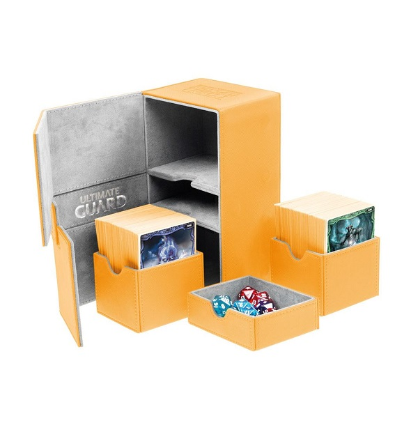Ultimate Guard Twin Flip´n´Tray Deck Case 160+ Amber