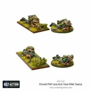 Chindit PIAT and anti-tank rifle teams