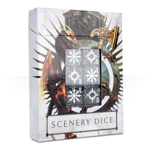 Warhammer Age of Sigmar Scenery Effects Dice