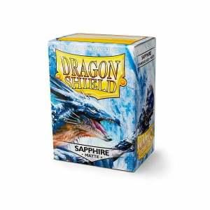 Dragon Shield Matte Sleeves Sapphire 100
