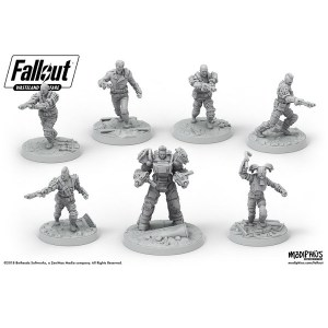 Fallout: Wasteland Warfare- Raiders Core Set