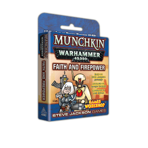 Munchkin: Warhammer 40,000: Faith and Firepower