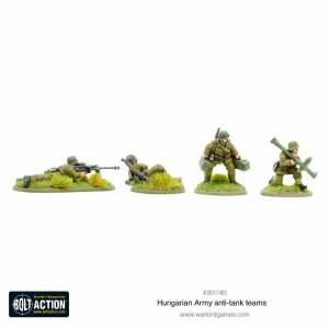 Hungarian Army anti-tank teams