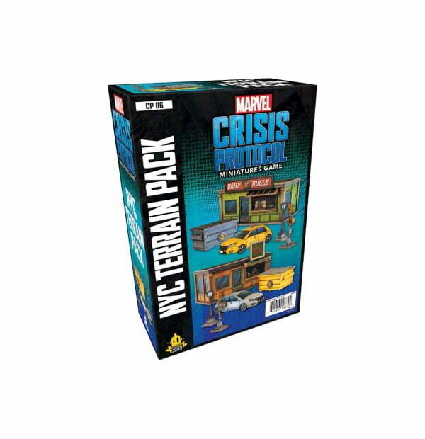 Marvel Crisis Protocol: NYC Terrain