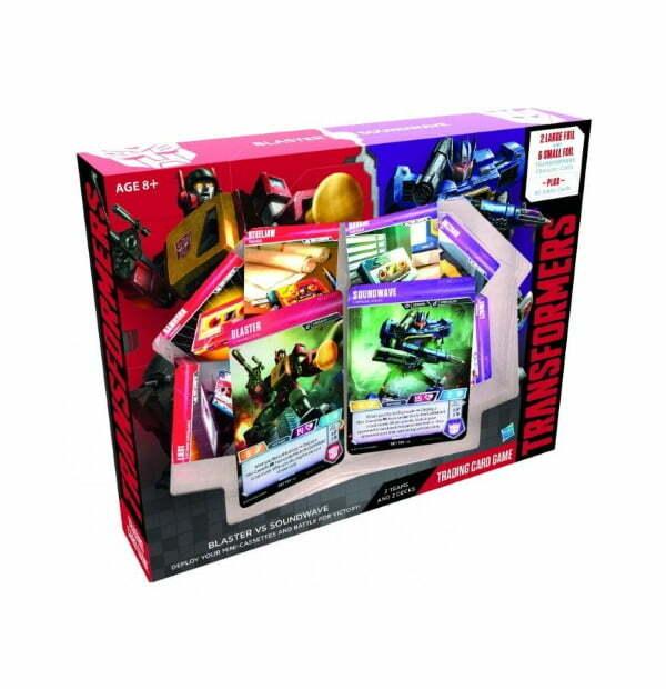 Transformers Trading Card Game: Blaster vs Soundwave Starter Set