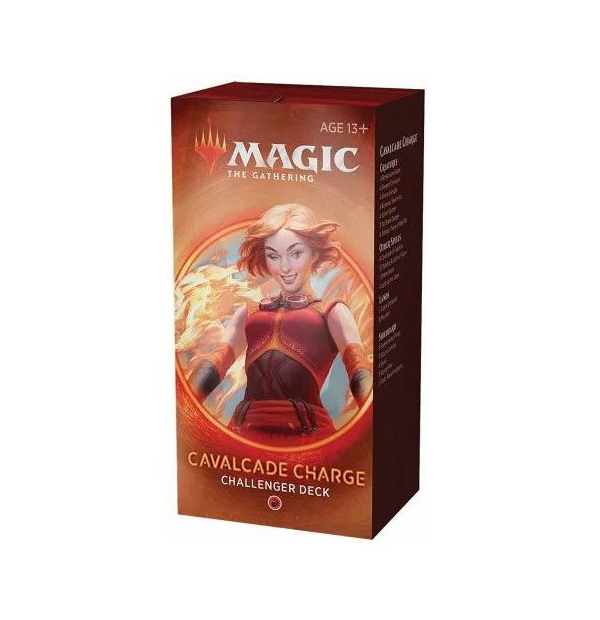 Magic the Gathering: Cavalcade Charge Challenger Deck