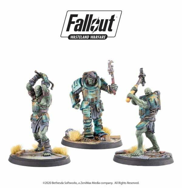 Fallout: Wasteland Warfare - Super Mutants Skirmishers
