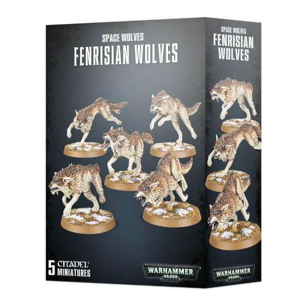 Space Wolves Fenrisian Wolves