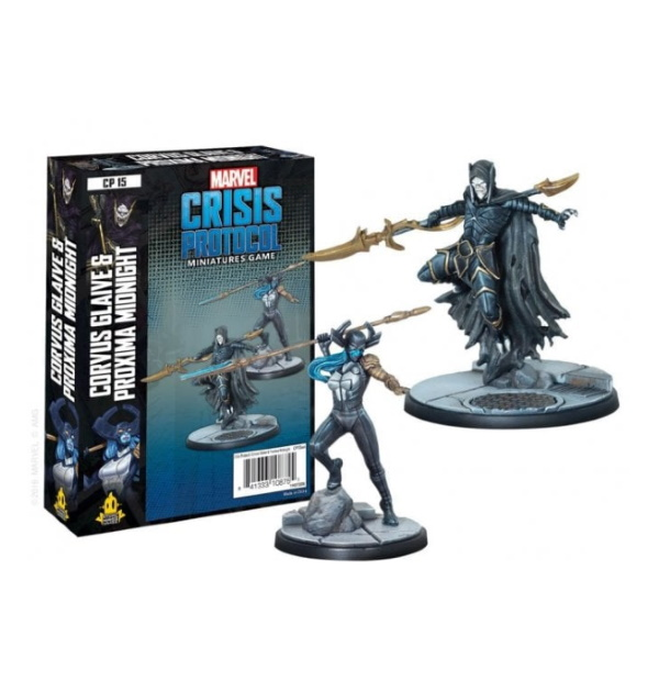 Marvel Crisis Protocol: Corvus Glaive and Proxima Midnight