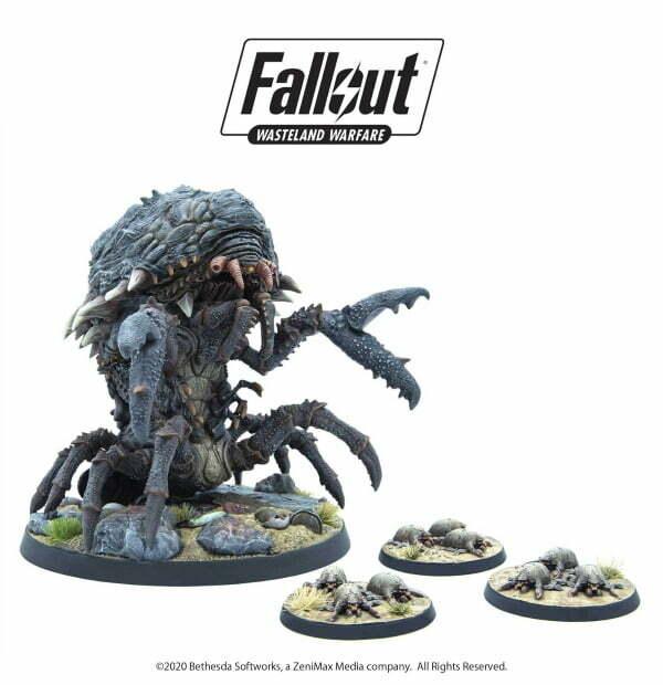 Fallout: Wasteland Warfare - Creatures: Mirelurk Queen
