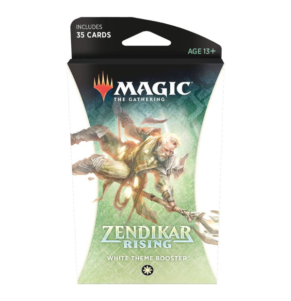 Magic the Gathering: Zendikar Rising White Themed Booster