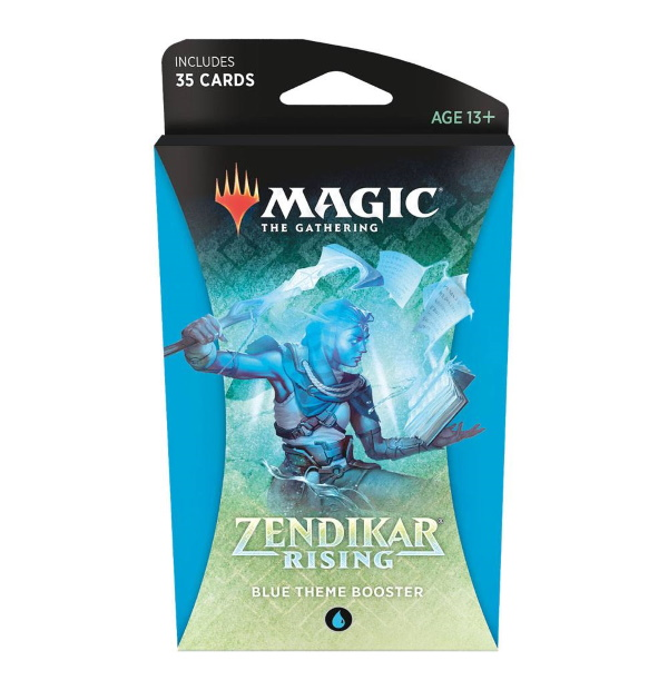 Magic the Gathering: Zendikar Rising Blue Themed Booster
