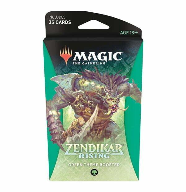 Magic the Gathering: Zendikar Rising Green Themed Booster