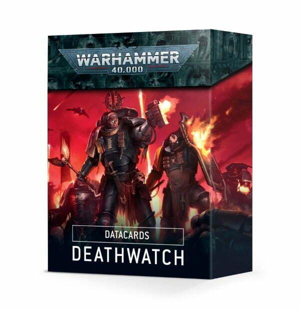 Deathwatch Datacards