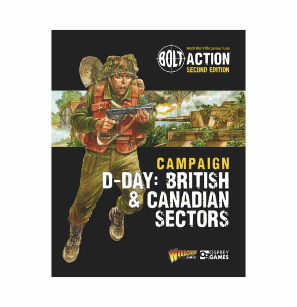 D-Day: British & Canadian Sectors - Bolt Action Theatre Book