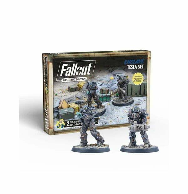 Fallout: Wasteland Warfare - Enclave: Tesla Set