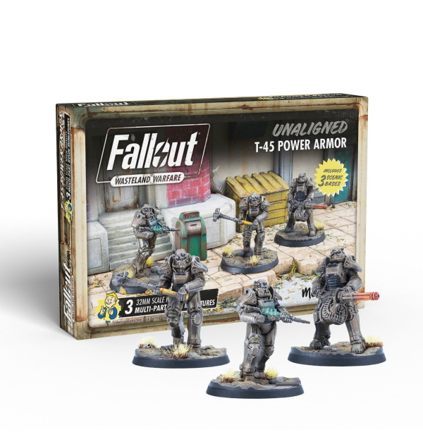 Fallout: Wasteland Warfare - Unaligned: T-45 Power Armour