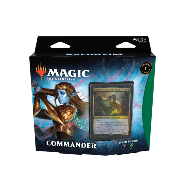 Magic the Gathering: Elven Empire Commander Deck