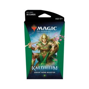 Magic the Gathering: Kaldheim Green Themed Booster