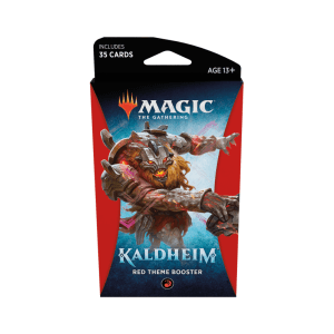 Magic the Gathering: Kaldheim Red Themed Booster