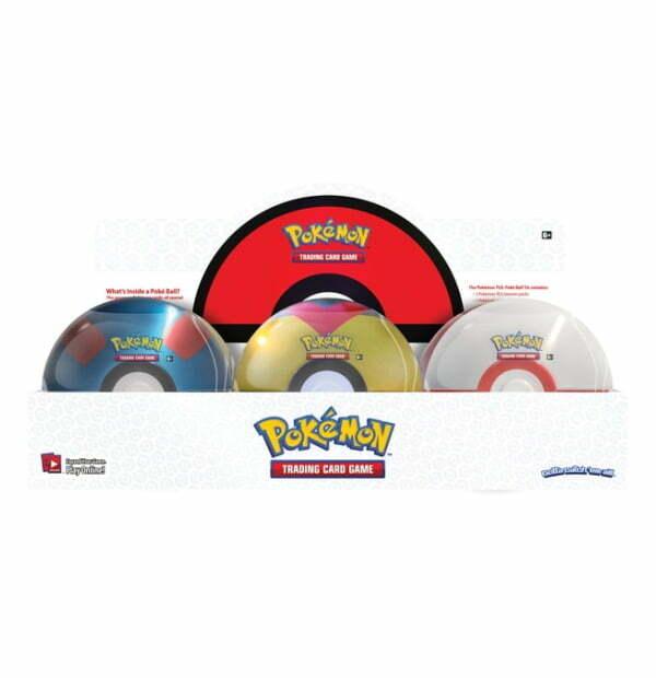 Pokémon TCG: Poke Ball Tin Series 6