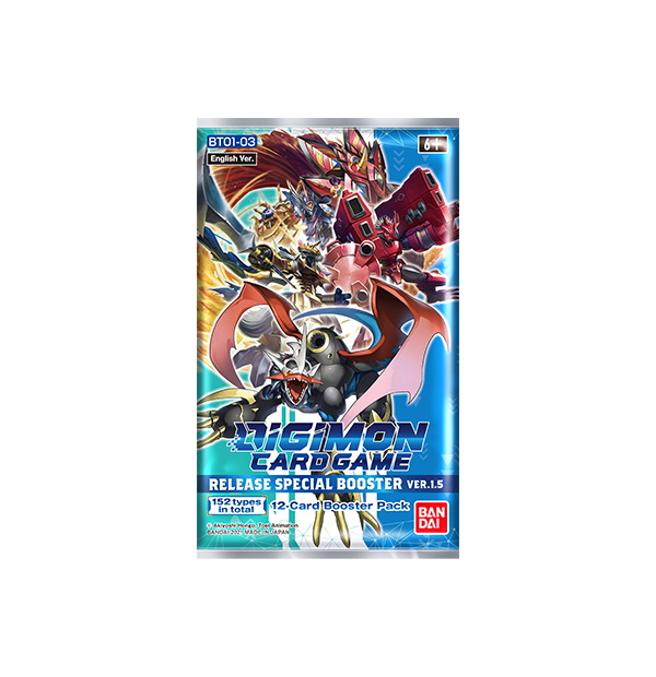 Digimon Trading Card Game: Special Booster Ver.1.5