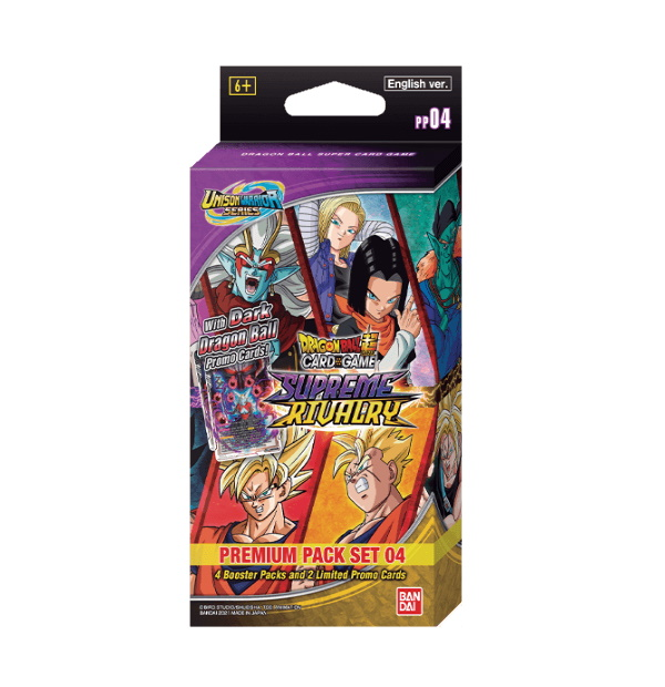 Dragon Ball Super Card Game: Premium Pack Set 04