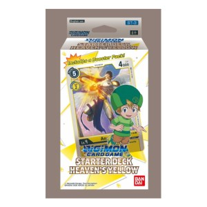 Digimon Trading Card Game: Starter Deck- Heaven's Yellow ST-3