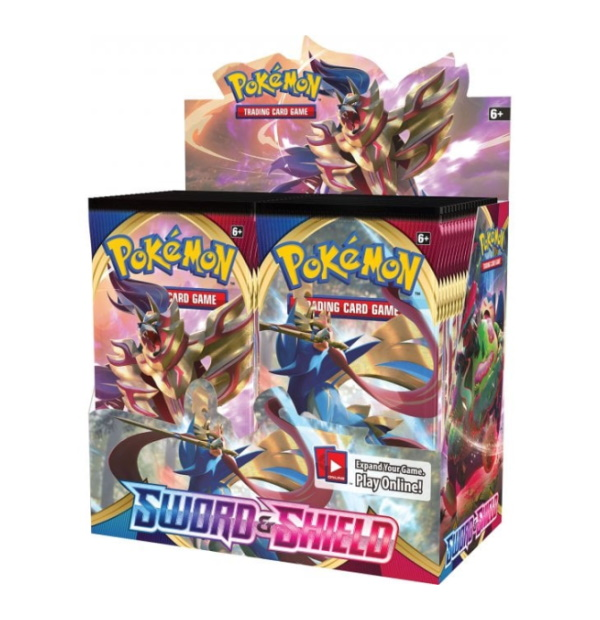 Pokémon Trading Card Game: Sword and Shield Booster Box