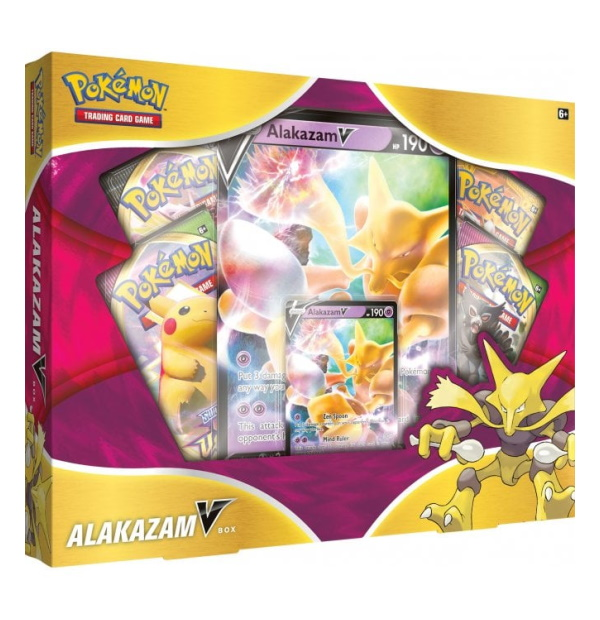 Pokémon Trading Card Game: Alakazam V Collection Box