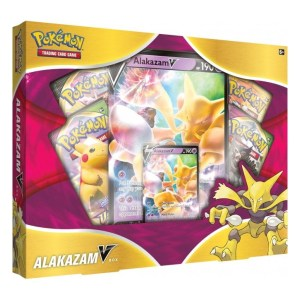 Pokémon Trading Card Game: Alakazam V Collection Box