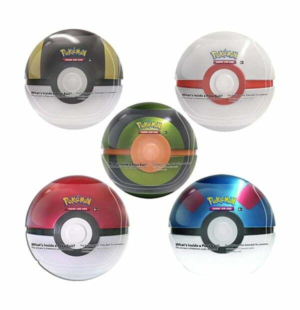 Pokémon Trading Card Game: Poke Ball Tin Series 5