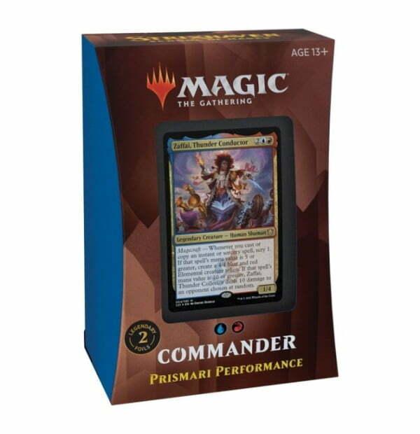 Magic the Gathering: Strixhaven: School of Mages Prismari Performance Commander Deck