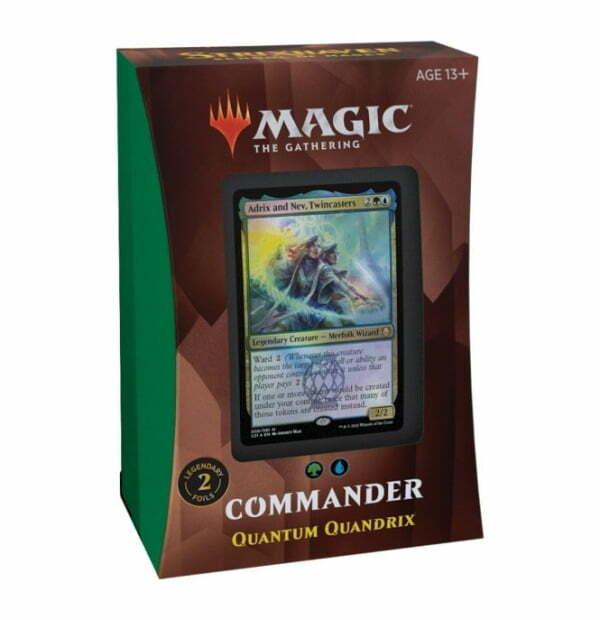 Magic the Gathering: Strixhaven: School of Mages Quantum Quandrix Commander Deck