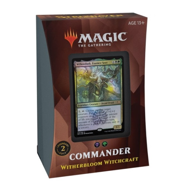 Magic the Gathering: Strixhaven: School of Mages Witherbloom Witchcraft Commander Deck