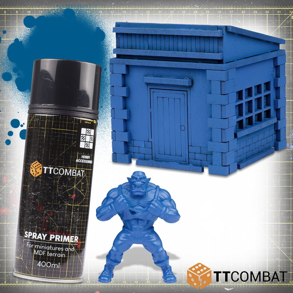 Poster Boy Blue Spray Primer