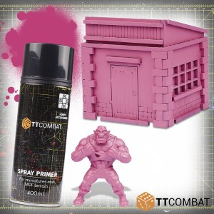 Rat Tail Pink Spray Primer