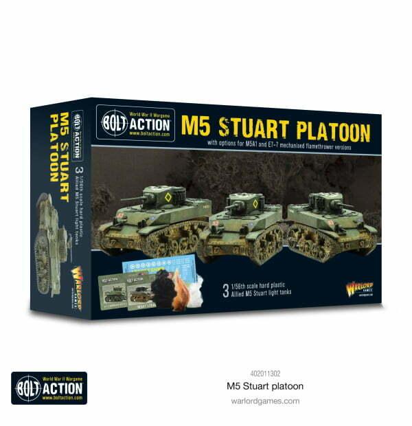 M5 Stuart Platoon