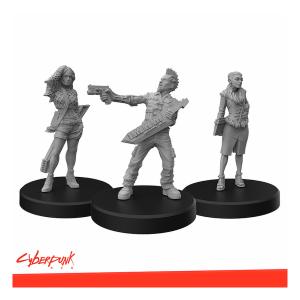 Cyberpunk RED Miniatures - Rockerboys A