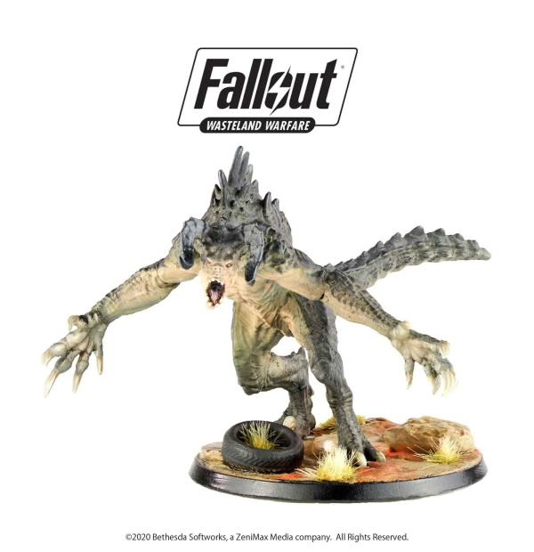 Fallout: Wasteland Warfare – Creatures: Deathclaw