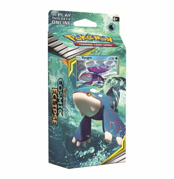 Pokemon Trading Card Game: Sun & Moon Cosmic Eclipse Kyogre Theme Deck