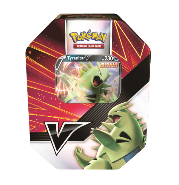 Pokémon Trading Card Game: Tyranitar V Strikers Tin