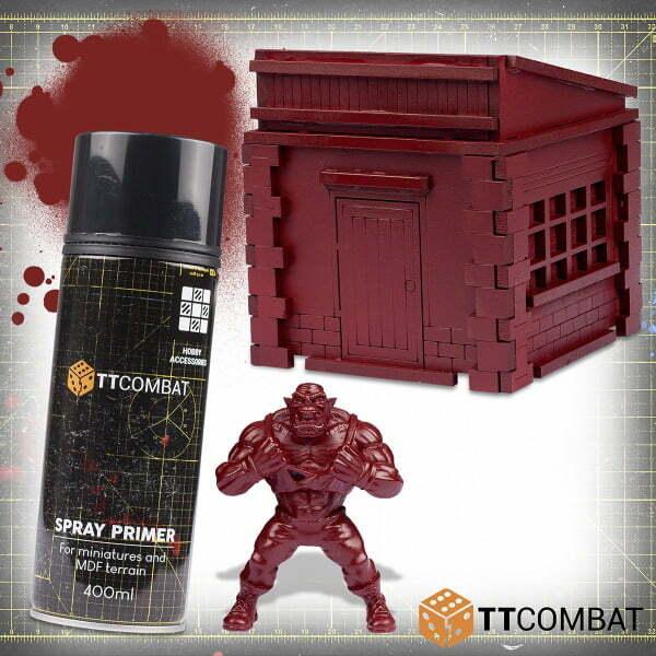 Capodecina Red Spray Primer