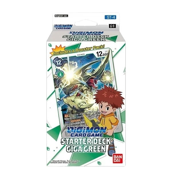 Digimon Trading Card Game: Giga Green Starter Deck ST-4