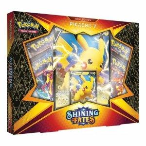 Pokémon Trading Card Game: Shining Fates Pikachu V Collection Box
