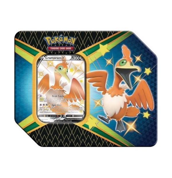 Pokémon Trading Card Game: Shining Fates Cramorant V Tin