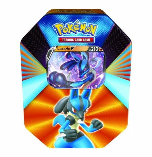Pokémon Trading Card Game: Lucario V Forces Tin